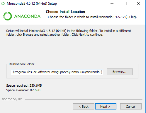 Setting up Python on Windows with Miniconda by Anaconda | Katie Kodes