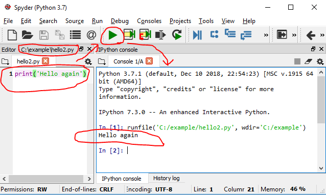 Setting up Python on Windows with Miniconda by Anaconda